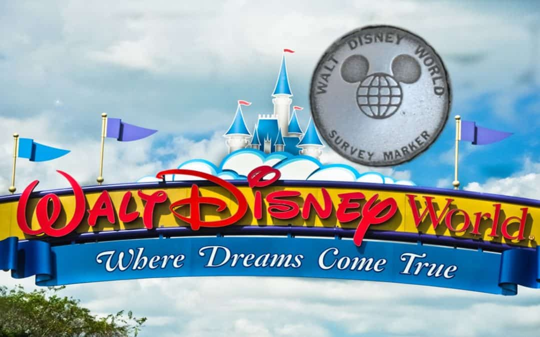 Land Survey Markers in the Magical World of Disney