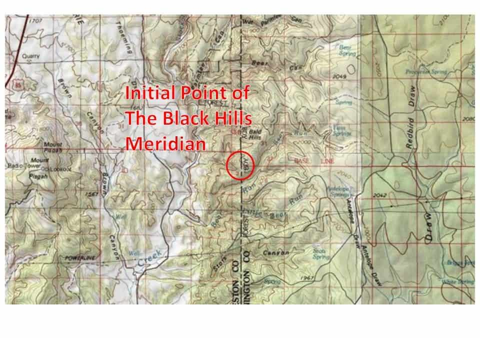 Initial Point of the Black Hills Principal Meridian